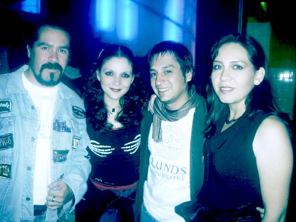 Raul, Nicky, Carlos y Susana